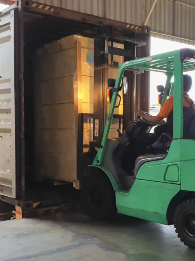 Export Container Loading