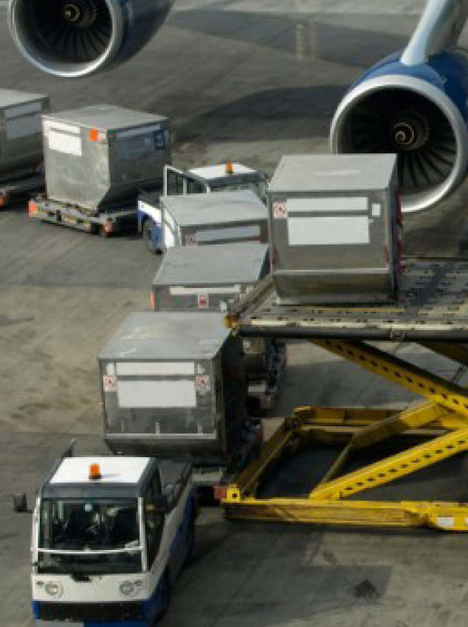 Air Freight Cargo Loading
